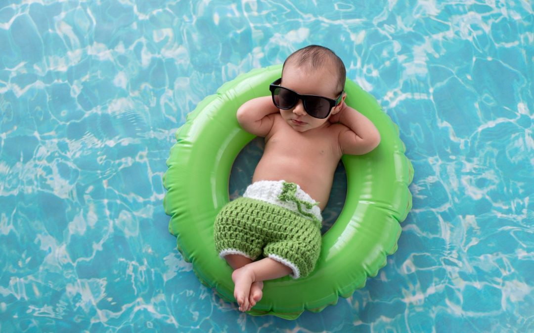 How to cope with babies sleeping in the heat